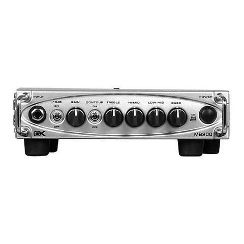 Shop online for Gallien-Krueger MB-200 - 200 Watt Ultra Light Bass Head today.  Now available for purchase from Midlothian Music of Orland Park, Illinois, USA