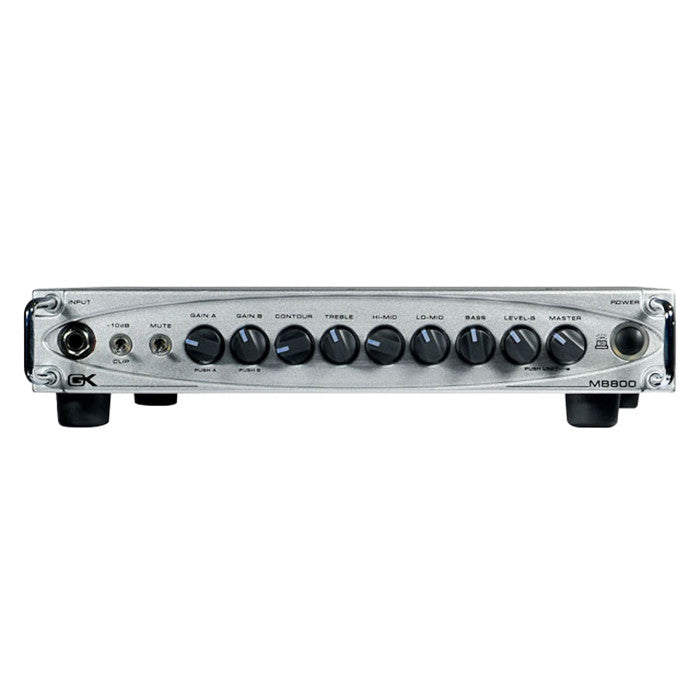 Shop online for Gallien-Krueger MB-800 - 800 Watt Ultra Light Bass Head today.  Now available for purchase from Midlothian Music of Orland Park, Illinois, USA