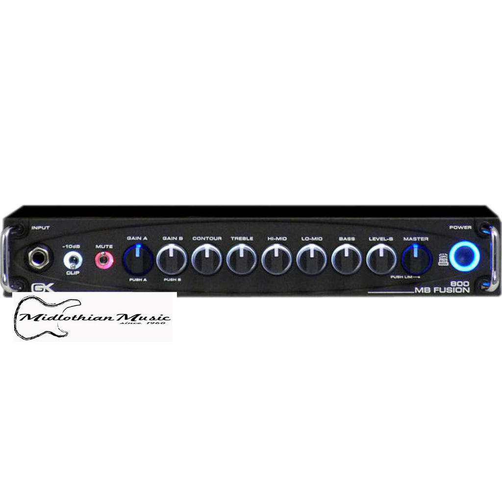 Gallien-Krueger MB Fusion 800 - 800 Watt Hybrid Bass Head
