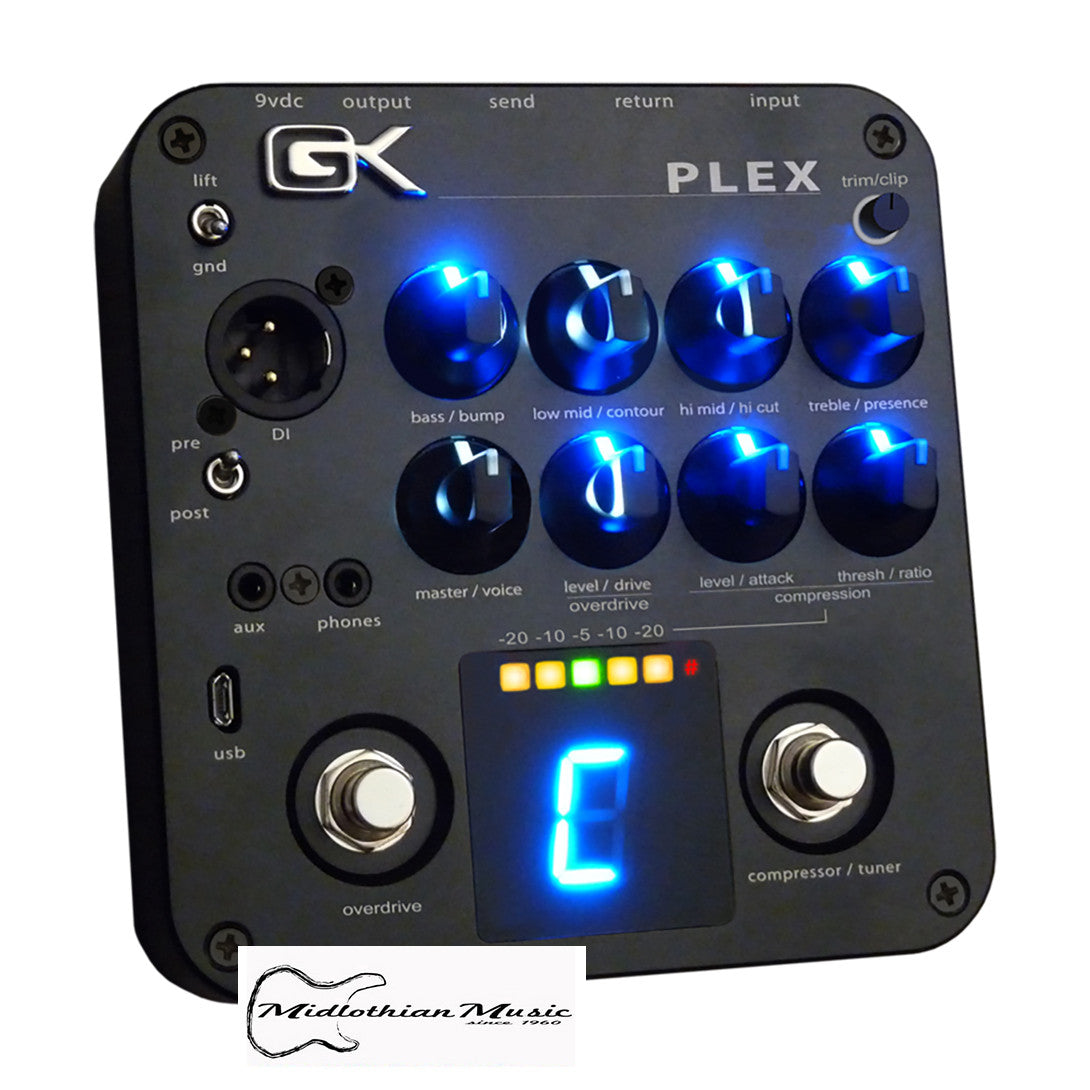 Shop online for Gallien-Krueger PLEX Bass Preamp today.  Now available for purchase from Midlothian Music of Orland Park, Illinois, USA