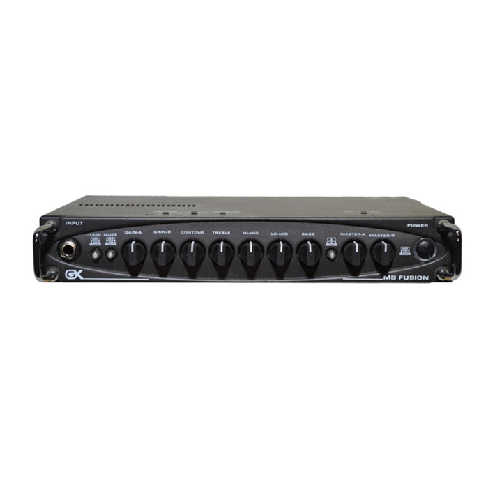 MB Fusion 500 - 500 Watt Hybrid Mini Tube Bass Head