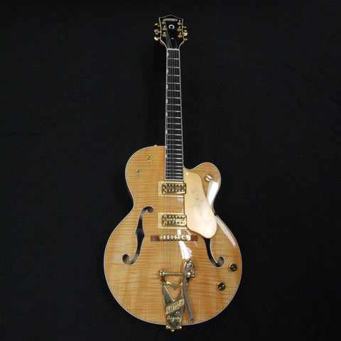 Shop online for Gretsch G6120AM Amber Chet Atkins Hollow Body today.  Now available for purchase from Midlothian Music of Orland Park, Illinois, USA