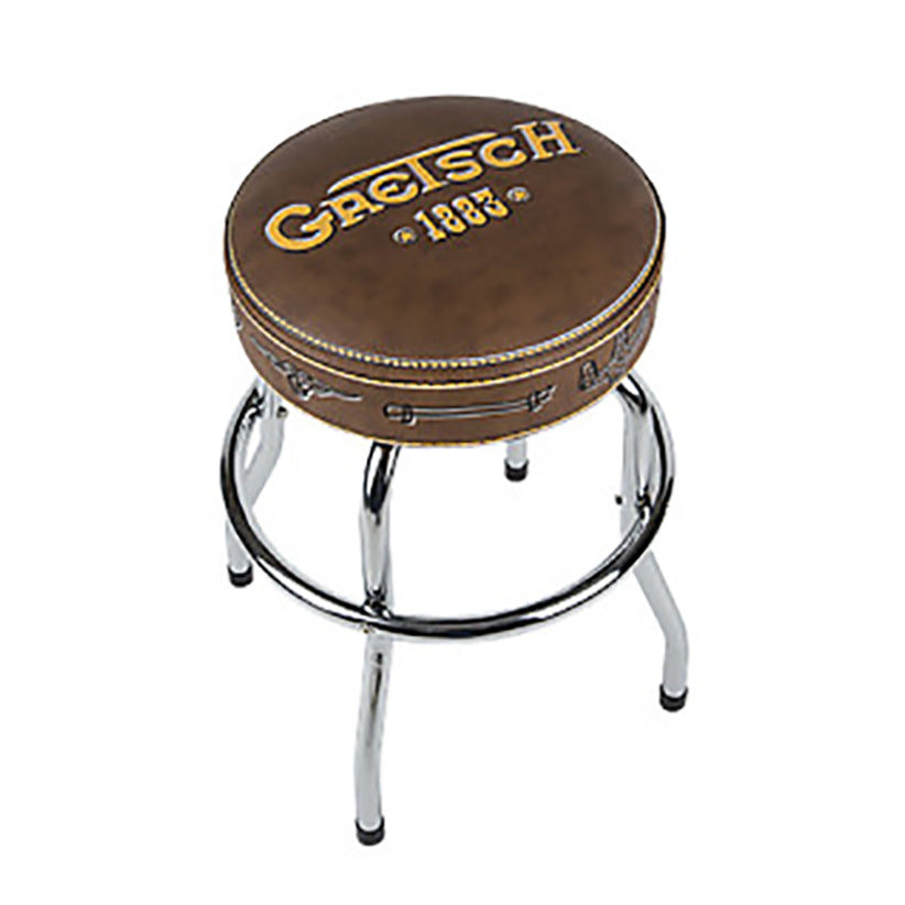 "Shop online for Gretsch GGBS24 24"" 1883 Bar Stool [9124756020] today.  Now available for purchase from Midlothian Music of Orland Park, Illinois, USA"