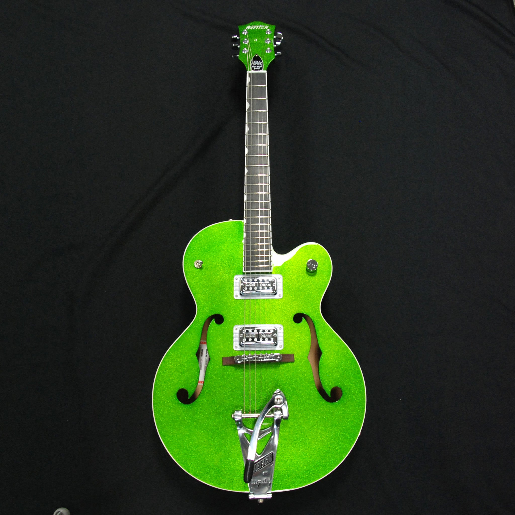 Gretsch G612osh Gspk Brian Setzer Hot Rod Green Sparkle Midlothian Schaller 3way Switch Wiring