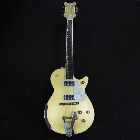 Shop online for Gretsch G6134T Casino Gold Limited Edition Penguin Guitar [G6134T] today.  Now available for purchase from Midlothian Music of Orland Park, Illinois, USA