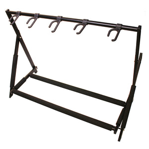 Shop online for Hamilton Stage Pro 5 Place Guitar Stand Black [KB5500G] today. Now available for purchase from Midlothian Music of Orland Park, Illinois, USA