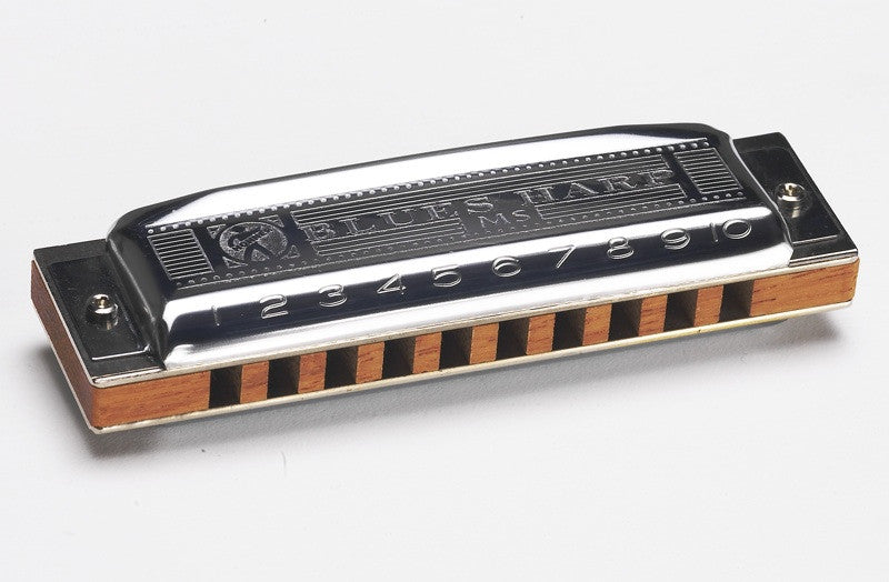 Shop online for Hohner 532 Blues Harp Diatonic Harmonica Key of D today.  Now available for purchase from Midlothian Music of Orland Park, Illinois, USA