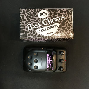Ibanez Soundtank Bass Chorus BC5 Effects Pedal NOS