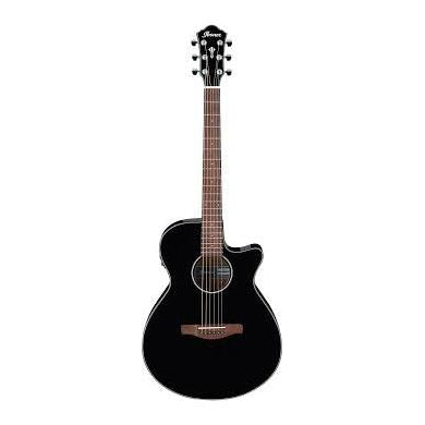 Ibanez AEG50BK AE Series Black High Gloss Acoustic-Electric Guitar