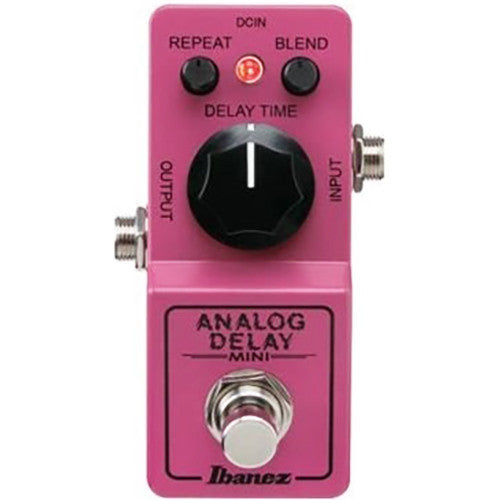 Shop online for Ibanez ADMINI Mini Analog Delay Pedal today.  Now available for purchase from Midlothian Music of Orland Park, Illinois, USA