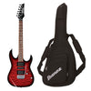 Ibanez GRX70QATRB Electric Guitar With FREE Ibanez Gig Bag