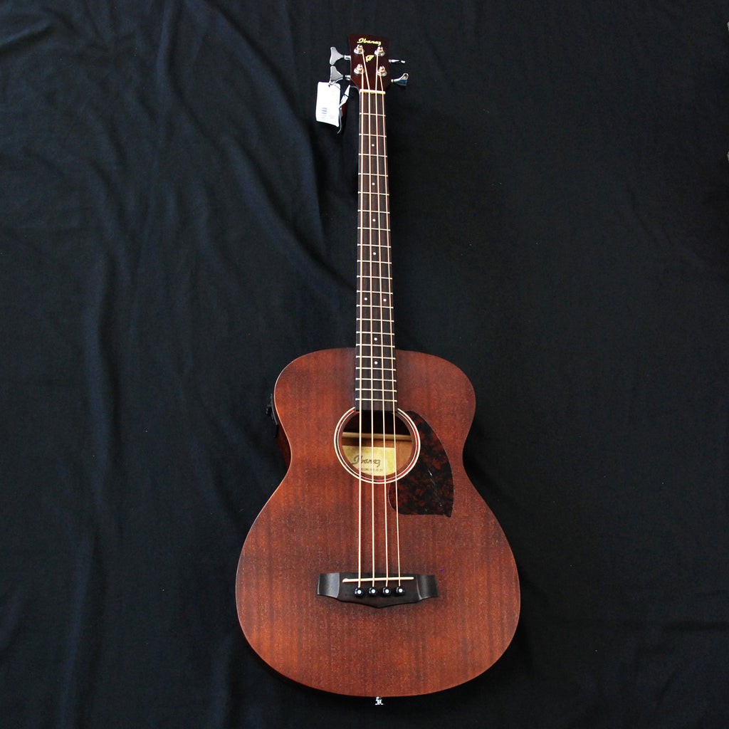 Ibanez PCBE12MH OPN 4-String Acoustic Bass Guitar Mahogany