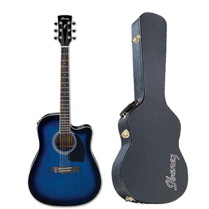 Shop online for Ibanez PF15ECEWCTBS Cutaway Acoustic/Electric Guitar TBS FREE Hardshell Case today. Now available for purchase from Midlothian Music of Orland Park, Illinois, USA