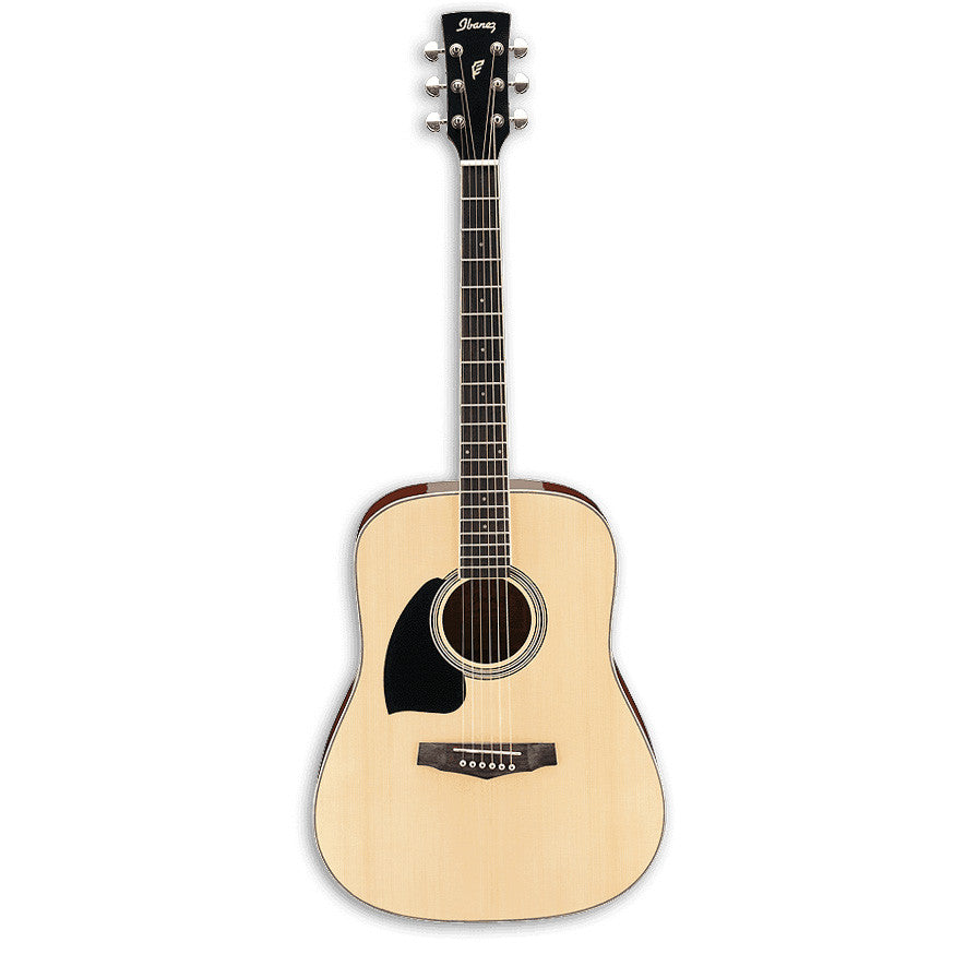 Ibanez PF15LNT Left Hand Dreadnought Acoustic Guitar Natural Gloss Finish