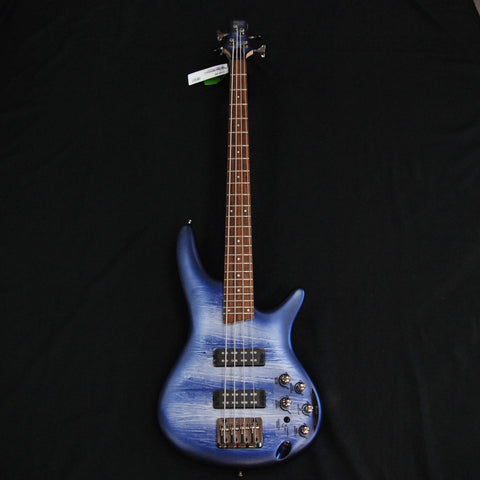 Shop online for Ibanez SR300ENPM 4 String Bass Navy Planet Matte today.  Now available for purchase from Midlothian Music of Orland Park, Illinois, USA