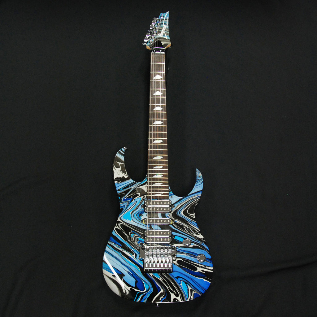 Ibanez UV77SVR Limited Edition Silver 7 String Guitar 25th Anniversary Model G16525