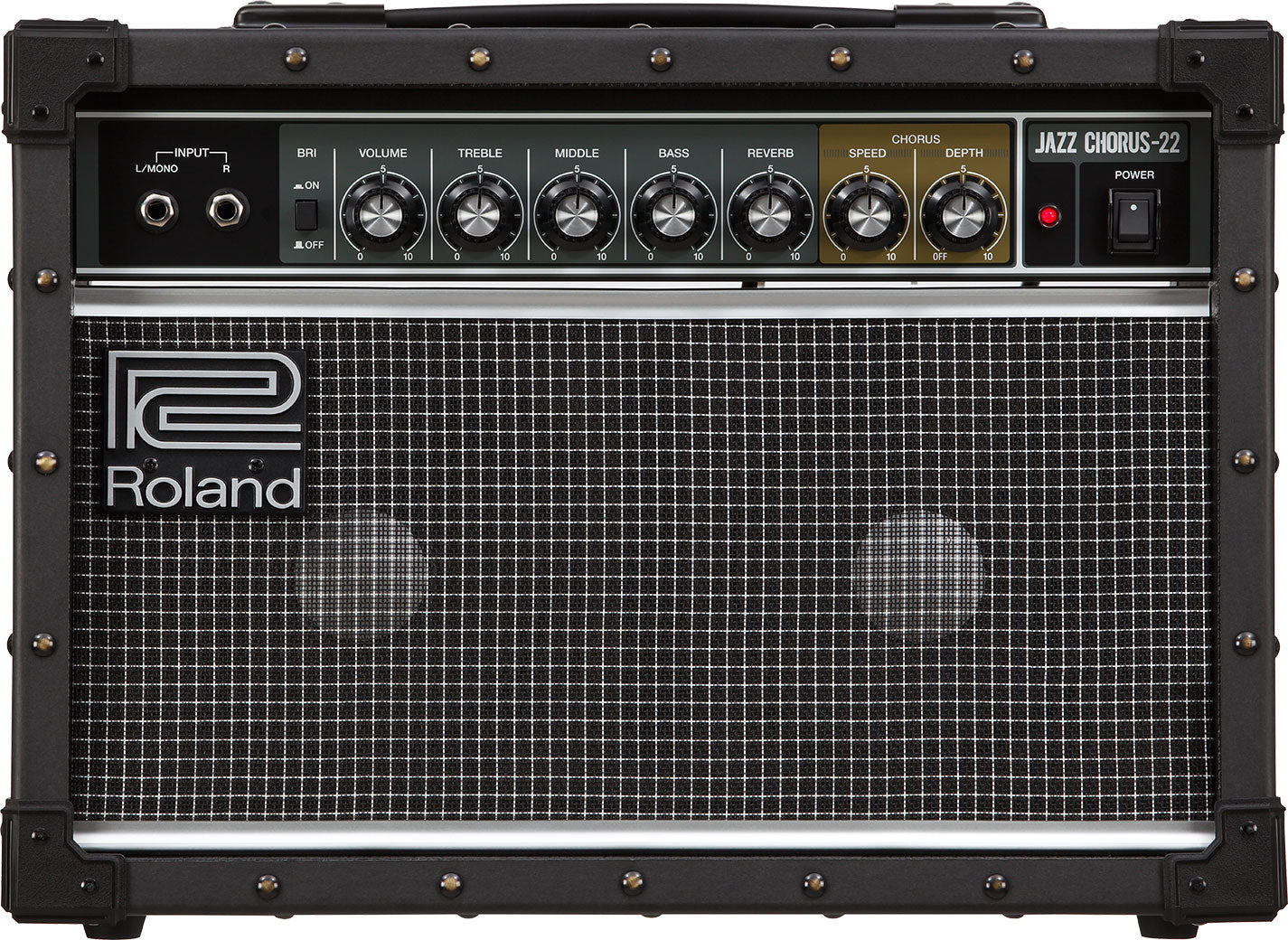 Shop online for Roland JC-22 Guitar Amplifier today.  Now available for purchase from Midlothian Music of Orland Park, Illinois, USA