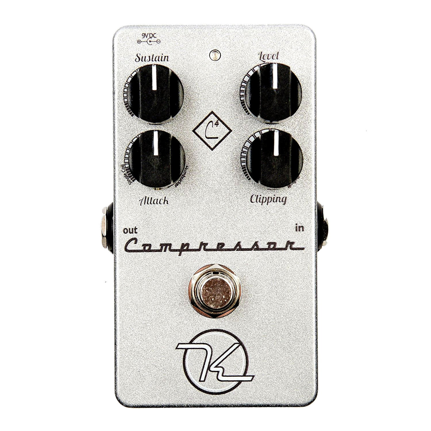 Shop online for Keeley 4 Knob Compressor Pedal [45320] today.  Now available for purchase from Midlothian Music of Orland Park, Illinois, USA