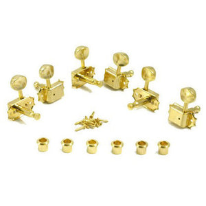 Shop online for Kluson SD9005MG 3/Side Guitar Machine Heads Gold today.  Now available for purchase from Midlothian Music of Orland Park, Illinois, USA