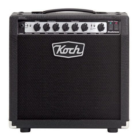 "Shop online for Koch ST20-C/EL84 Studiotone 20 Watt Class A 1 x 12"" Combo today.  Now available for purchase from Midlothian Music of Orland Park, Illinois, USA"