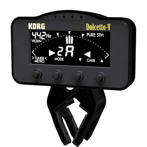 Shop online for Korg AW3V Dolcetto Clip-On Tuner & Metronome Violin/Viola today. Now available for purchase from Midlothian Music of Orland Park, Illinois, USA