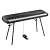 Korg SP-280BK 88 Key Digital Piano w/Speakers & Stand Black