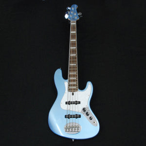 Lakland Skyline Series 55-60 Custom Lake Placid Blue 5 String Jazz Bass Guitar [191019099]