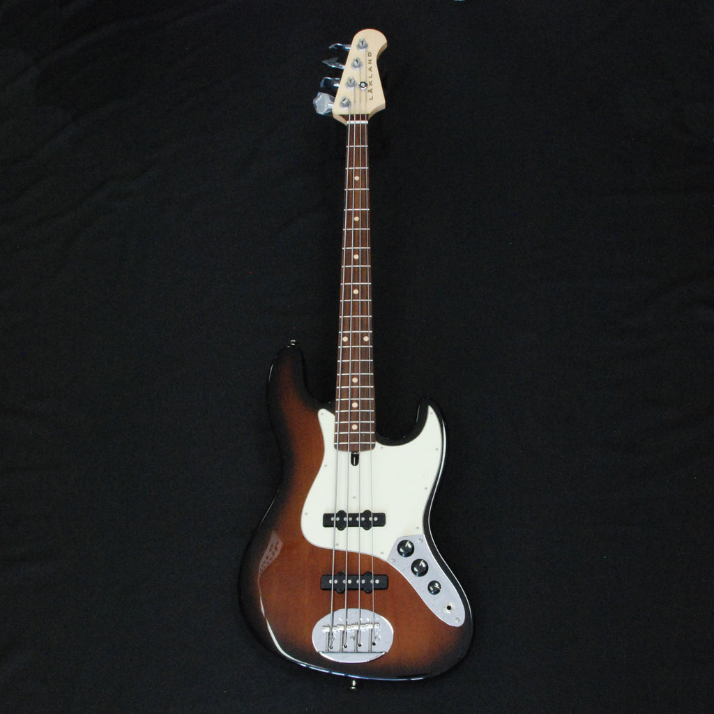 Lakland USA 44-60 Classic Jazz 4-String Electric Bass Tobacco Sunburst J40055