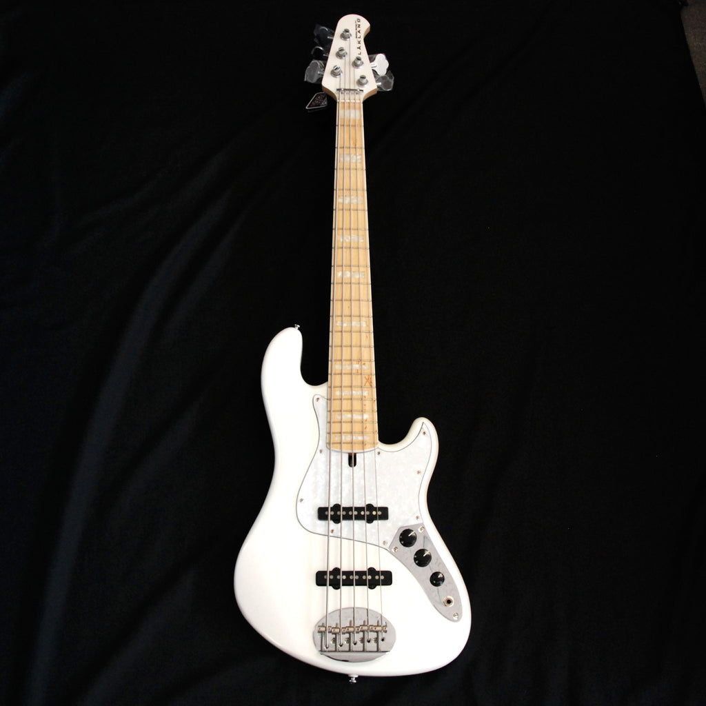 Lakland Skyline Darryl Jones Signature 5 (DJ5) Bass White Pearl 9 LBS.