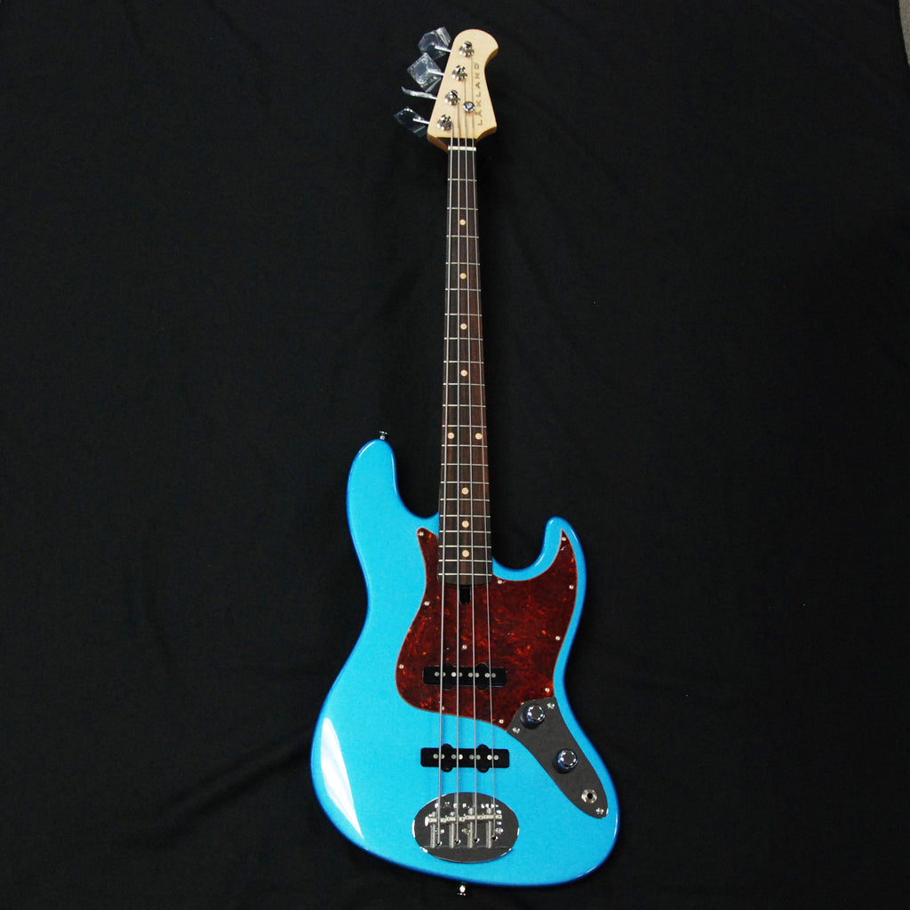 Lakland USA 44-60 4-String Jazz Bass Lake Placid Blue #JO827