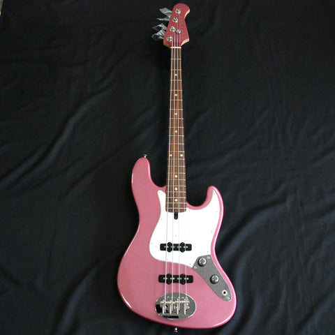 Shop online for Lakland USA Classic Series 44-60 Burgundy Mist 4 String Electric Jazz Bass Guitar [JO839] today.  Now available for purchase from Midlothian Music of Orland Park, Illinois, USA