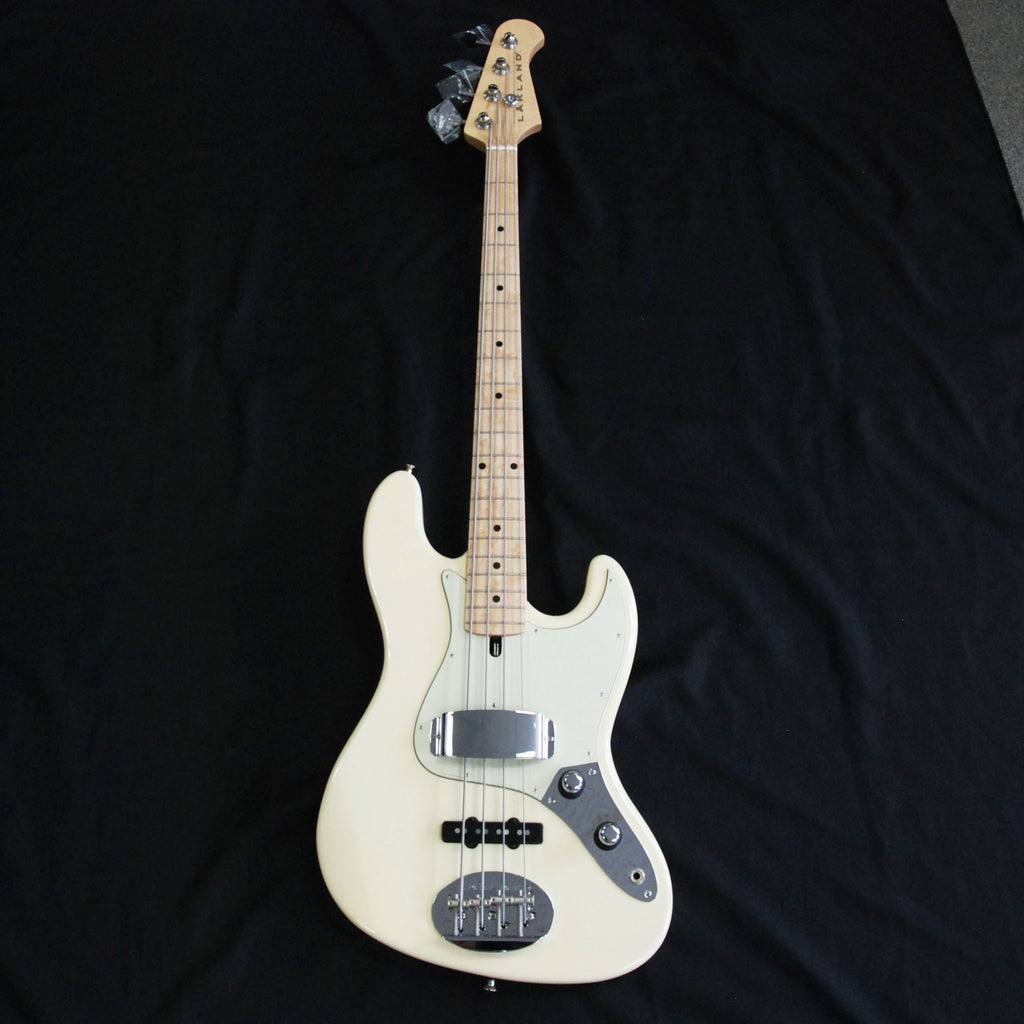 Lakland USA 44-60 4 String Jazz Bass Vintage White #JO835 Discounted