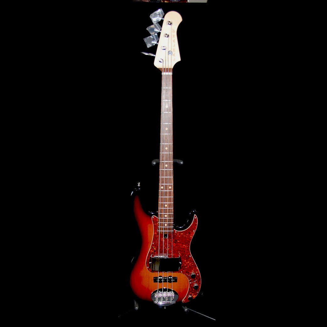 Shop online for Lakland USA Classic Series 44-64 3 Tone Sunburst 4 String Electric Bass Guitar today.  Now available for purchase from Midlothian Music of Orland Park, Illinois, USA