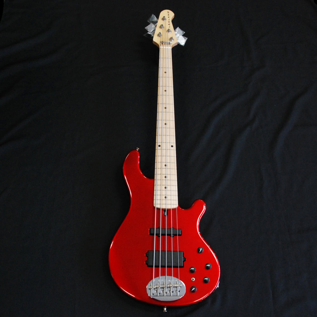 Lakland USA 55-14 5-String Bass Candy Apple Red