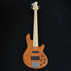 Shop online for Lakland USA Series 55-94 Deluxe Maple Burl 5 String Electric Bass Guitar [7555] today.  Now available for purchase from Midlothian Music of Orland Park, Illinois, USA