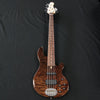 Lakland USA 55-94 Custom Deluxe 5-String Electric Bass Walnut Burl #1049