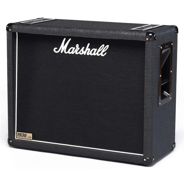 Shop online for Marshall M-1936-E 150w 2x12 Straight Cabinet Speaker today.  Now available for purchase from Midlothian Music of Orland Park, Illinois, USA