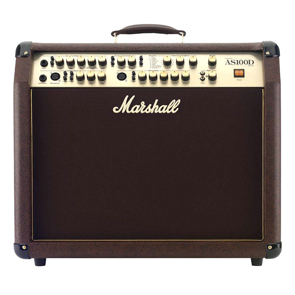 Marshall M-AS100D-U 100 Watt Stereo 2x8 Acoustic Combo Amplifier
