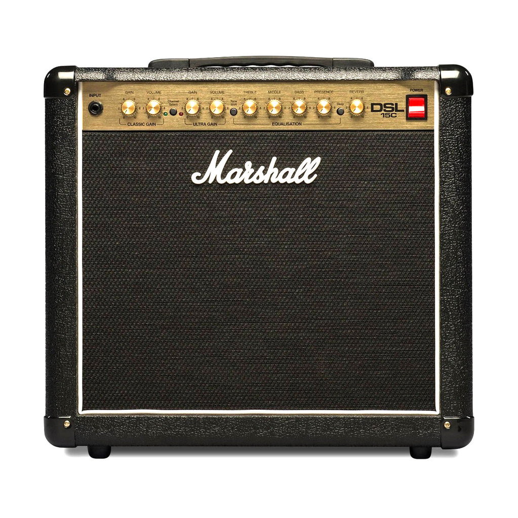 "Marshall DSL15C-U 15w DSL All-Tube 2 Channel 1x12"" Combo"