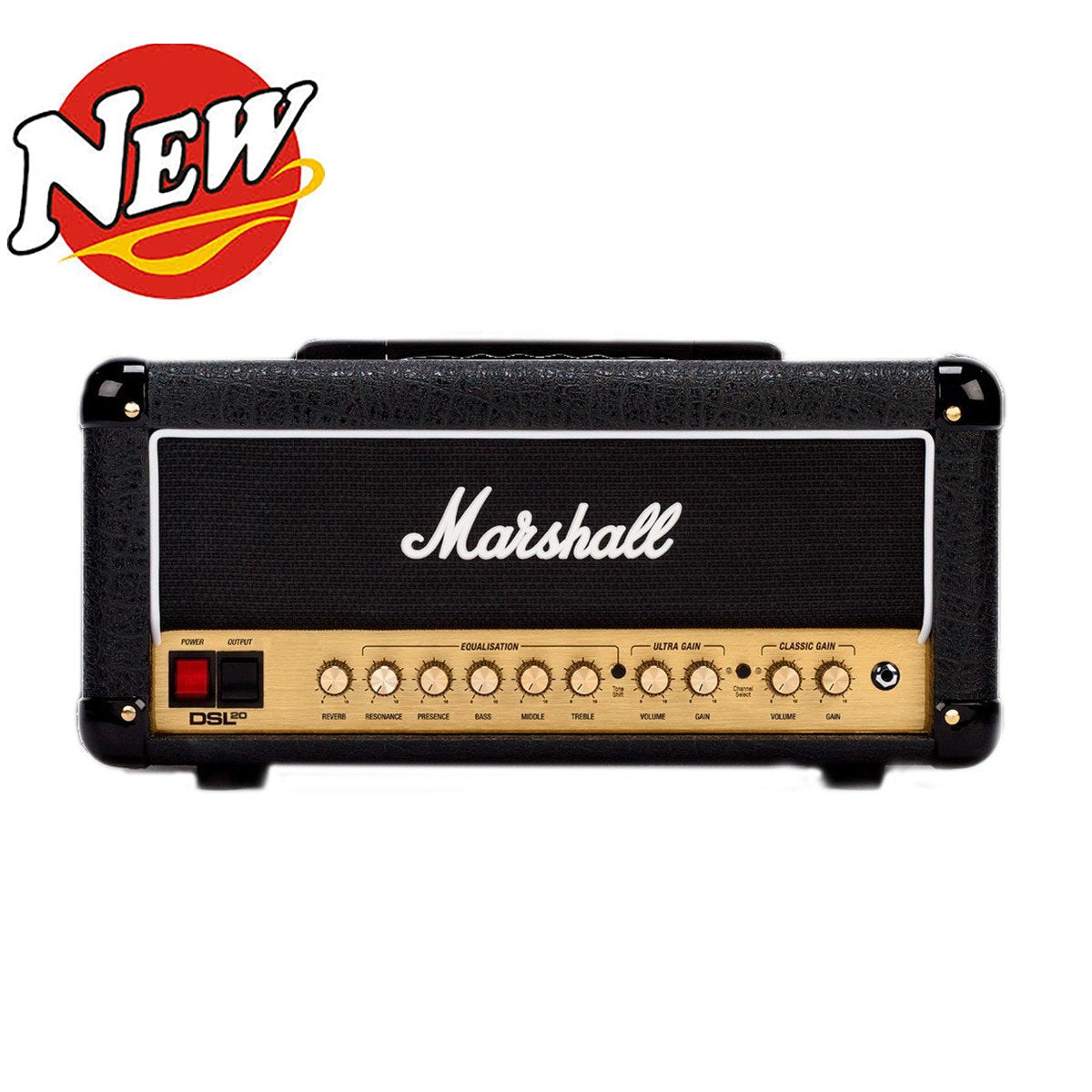 Marshall DSL20HR 20W All Tube Guitar Amplifier Head NEW