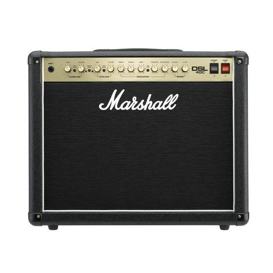 Shop online for Marshall DSL40C All Tube 40 Watt Guitar Combo Amplifier [V01063FEAU] today. Now available for purchase from Midlothian Music of Orland Park, Illinois, USA