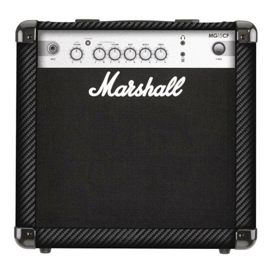 Shop online for Marshall M-MG15CF 15 Watt 1x8 Combo Guitar Amplifier today.  Now available for purchase from Midlothian Music of Orland Park, Illinois, USA