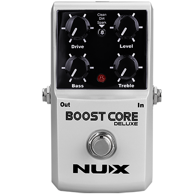 Shop online for NUX Boost Core Deluxe Guitar Effect Pedal [BOC17C30793] today. Now available for purchase from Midlothian Music of Orland Park, Illinois, USA