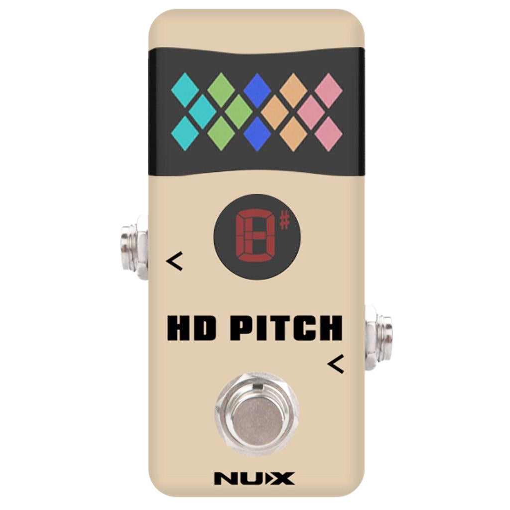 Shop online for NUX NTU-2 Mini Pedal Tuner today.  Now available for purchase from Midlothian Music of Orland Park, Illinois, USA