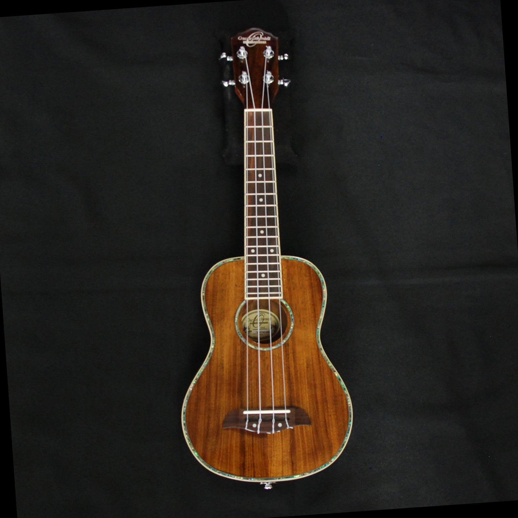 Shop online for Oscar Schmidt OU5E Concert Ukulele Koa today.  Now available for purchase from Midlothian Music of Orland Park, Illinois, USA