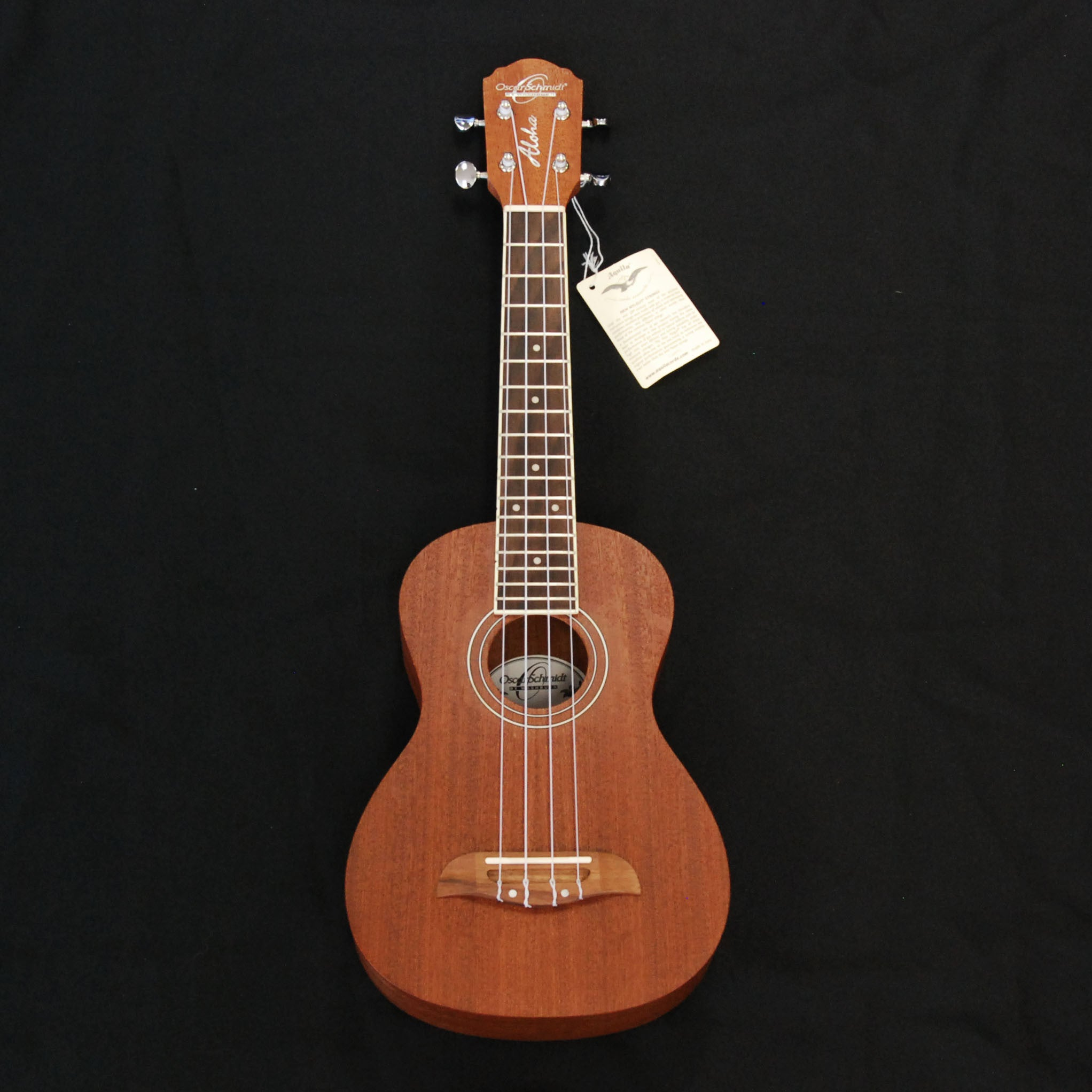 Shop online for Oscar Schmidt OU2 Concert Ukulele Mahogany today. Now available for purchase from Midlothian Music of Orland Park, Illinois, USA