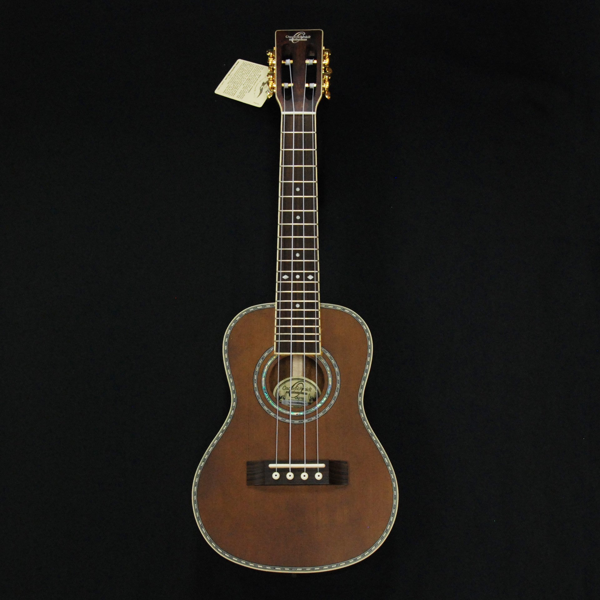 Shop online for Oscar Schmidt OU10 Concert Ukulele Spruce/Trembesi today.  Now available for purchase from Midlothian Music of Orland Park, Illinois, USA