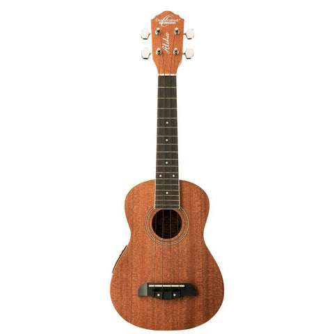Shop online for Oscar Schmidt OU2E Concert Ukulele Electric Mahogany [P180702389] today.  Now available for purchase from Midlothian Music of Orland Park, Illinois, USA