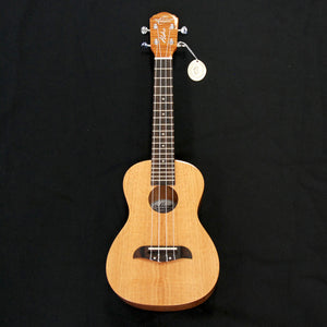 Shop online for Oscar Schmidt OU300F Concert Ukulele Flamed Mahogany today.  Now available for purchase from Midlothian Music of Orland Park, Illinois, USA