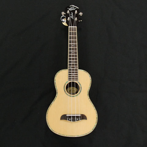Shop online for Oscar Schmidt OU3 Concert Ukulele Spruce/Rosewood today.  Now available for purchase from Midlothian Music of Orland Park, Illinois, USA